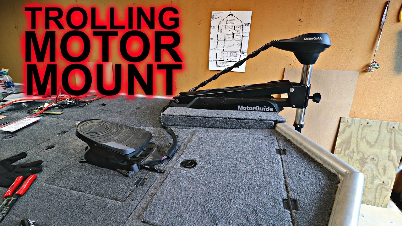 Trolling Motor Mount Jon Boat To Bass Boat Youtube