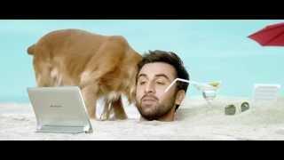 Lenovo Yoga Tablet 2 : Ranbir on the Beach film