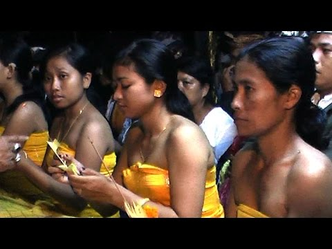 Teeth Ceremony in Balinese Hinduism