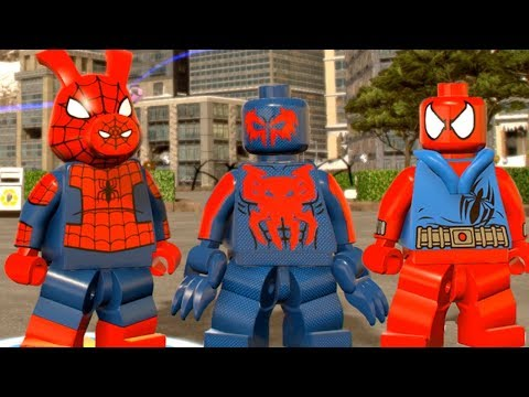 TheHiddenBlade01's LEGO Videos: All Spider-Man Characters in