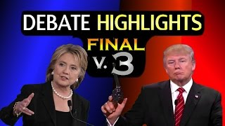Third Presidential Debate Highlights and Best Moments | Trump vs Clinton