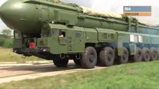 Topol-M: Russische strategische Atomrakete am Start