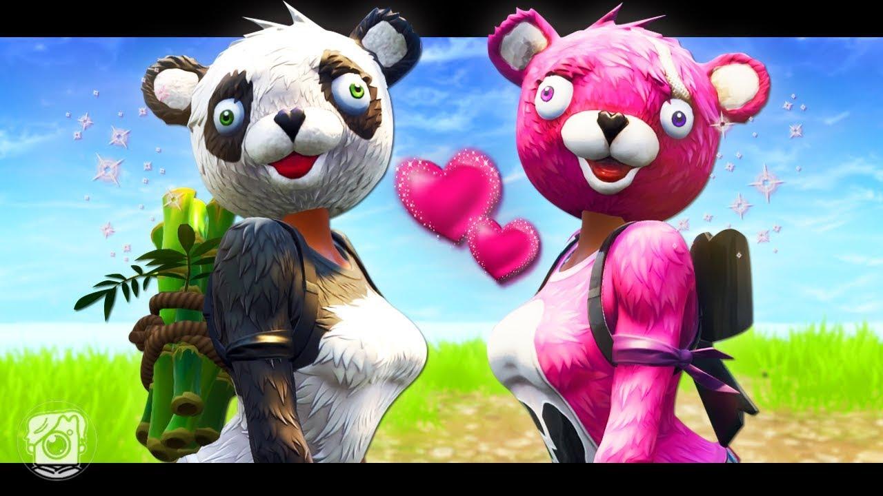 panda team leader falls in love new skin a fortnite short film