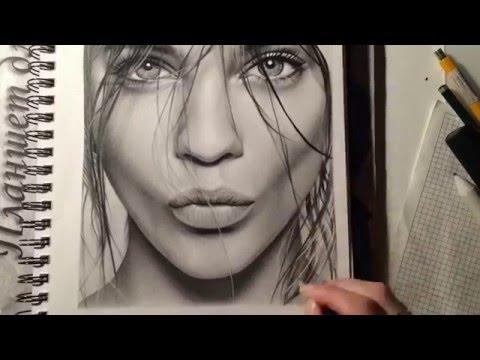 Картинки для срисовки карандашом для лд