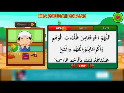 Doa Sebelum Belajar dan Sesudah Belajar - Channel Anak Sholeh