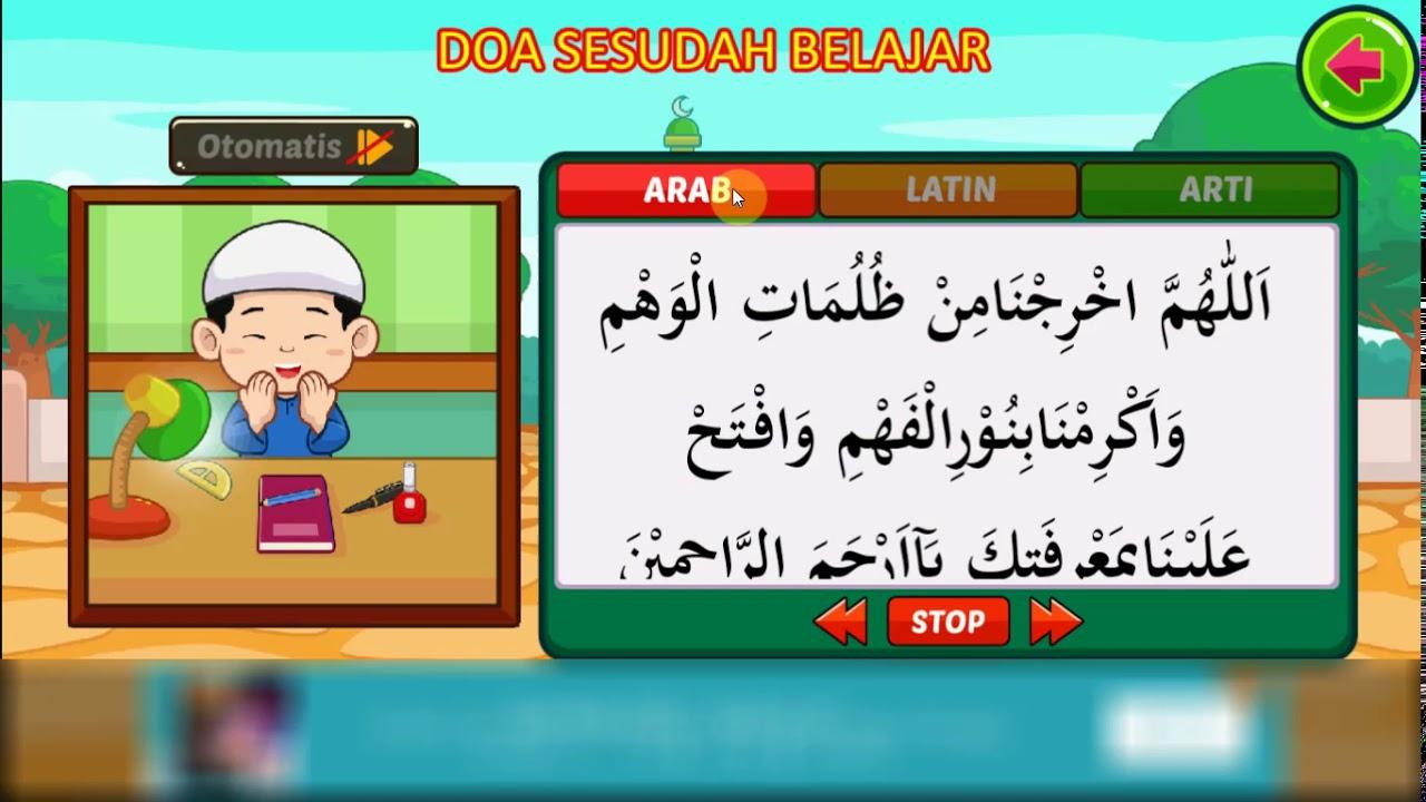 Doa Sebelum Belajar Dan Sesudah Belajar Channel Anak Sholeh
