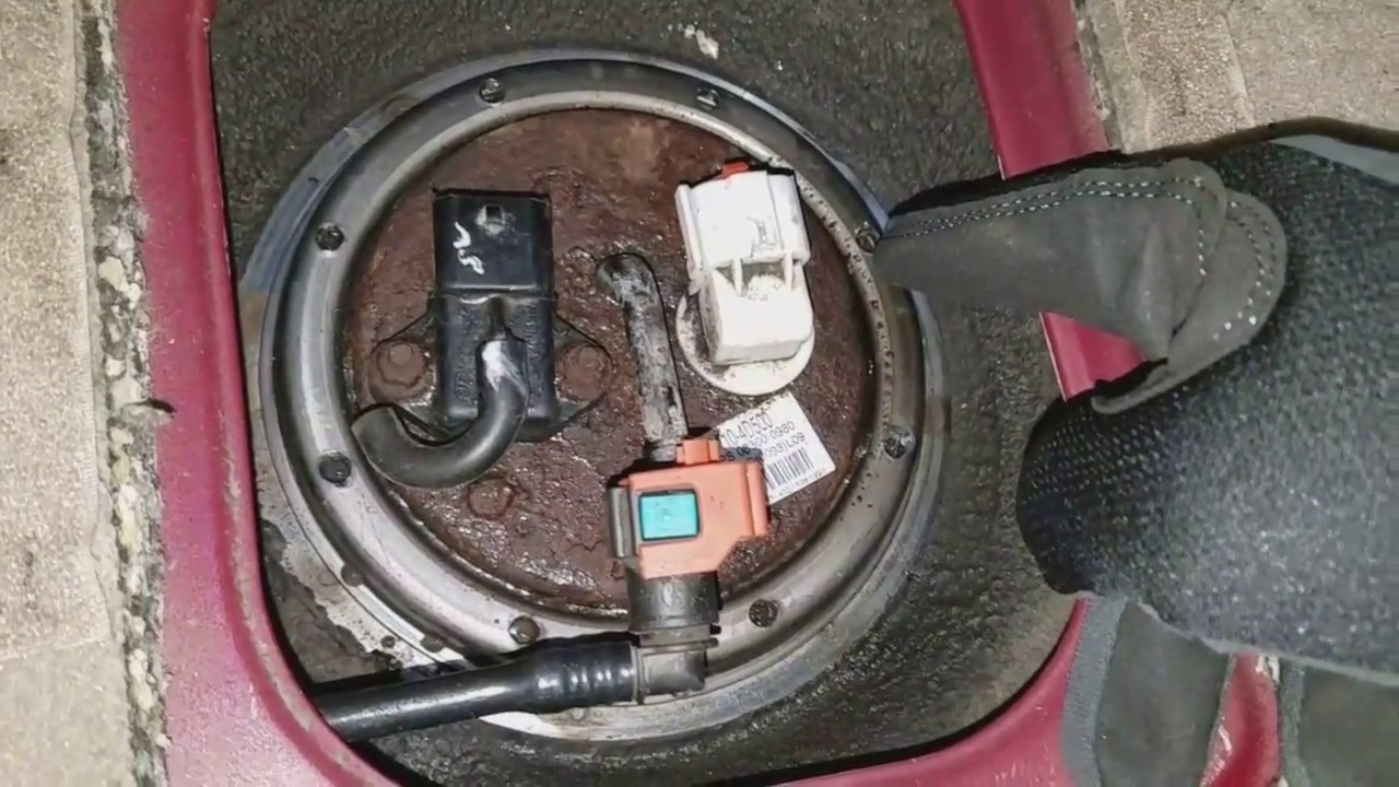 2007 kia sedona fuel pump replacement easy  [ 1280 x 720 Pixel ]