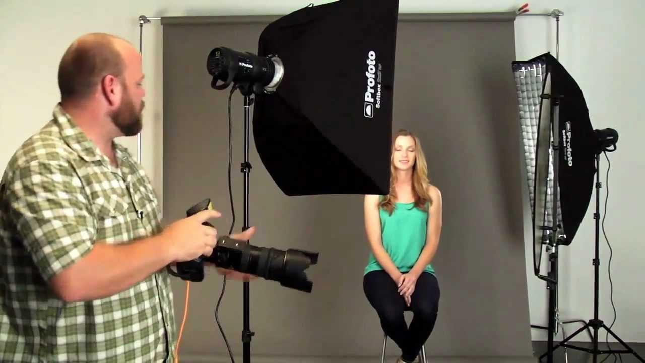 & Webinar: Basic Lighting Techniques for Studio Portraiture - YouTube