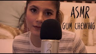 ASMR Close-up Whispering Quotes & Gum Chewing