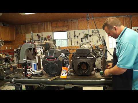 Exmark Lazer Z Motor Swap (Installing a Predator 670)