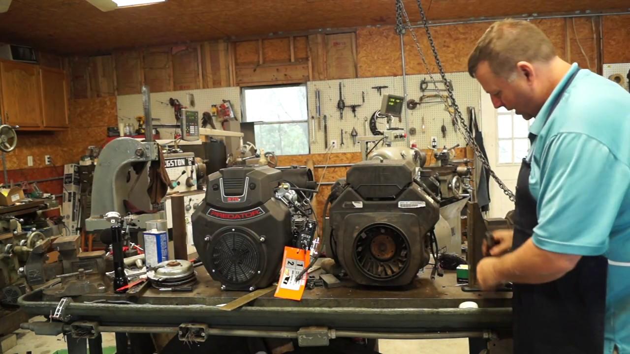 Exmark Lazer Z Motor Swap (Installing a Predator 670) on