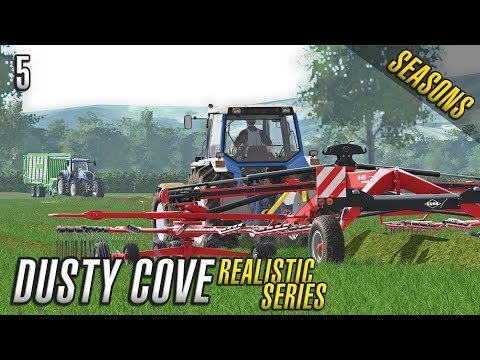 Realistic Farming Simulator 17 | Dusty Cove | Day Five