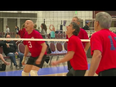 National Volleyball Open Begins At Minneapolis Convention Center