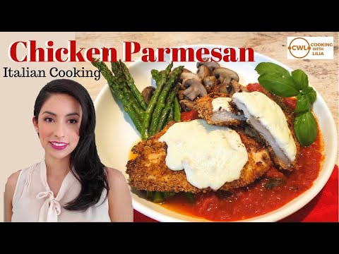 chicken-parmesan-|-crispy-baked-chicken-parmesan-|-easy-dinner-recipes-|-cooking-with-lilia