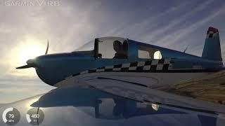 N6217L KEDU to KSAC 1970 Grumman AA1