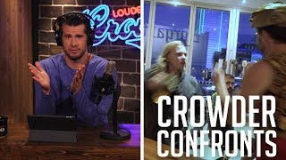 TEASER: Crowder Confronts Antifa ICE Killer | Louder With Crowder