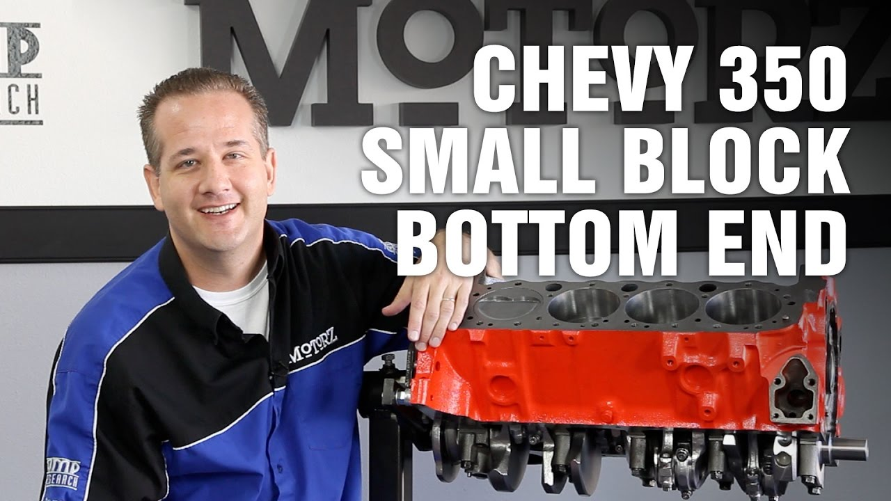 How To Rebuild Bottom End Chevy 350 Small Block Engine Motorz 66 1998 Diagram Youtube