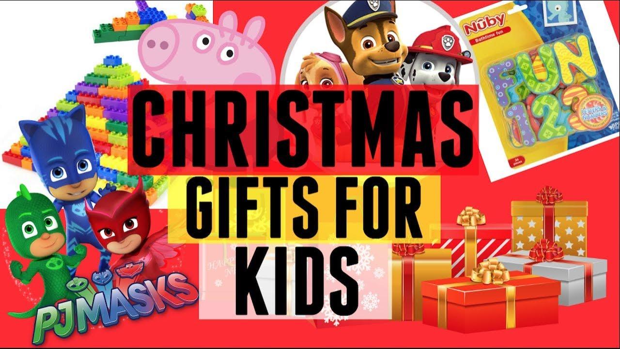 KIDS CHRISTMAS GIFT IDEAS/HAUL | CHILDREN\'S TOY IDEAS - YouTube