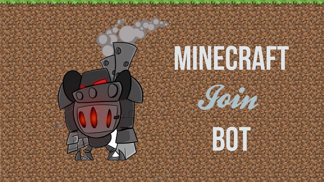 Minecraft server join spammer Bot 2015 + Download | [1 7 2
