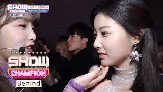 Hye Won's Being Forced to Act Cute [SHOW CHAMPION Behind Ep 132]