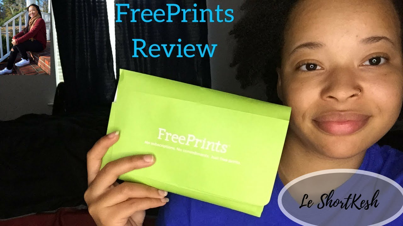 review of freeprints app youtube