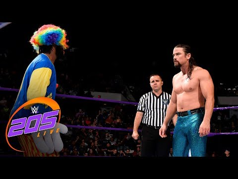 Rich Swann vs. The Brian Kendrick: WWE 205 Live, Oct. 31, 2017