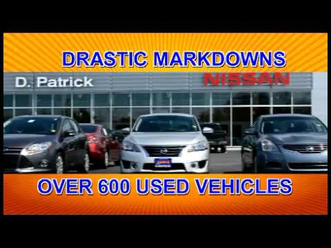 D-Patrick Nissan - Used Car Sales Event August 2016 - YouTube