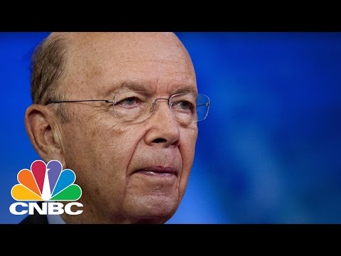 Senator John Thune: Paperwork Delayed Wilbur Ross Hearing | Squawk Box | CNBC