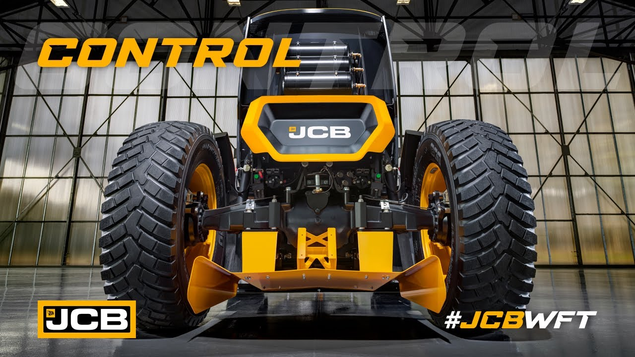 Control - JCB WFT Fastrac, the World's Fastest Tractor