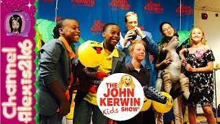 Behind the Scenes with Lizzy Greene, Madison Hu, Cody Veith, Amir O'Neill @ The John Kerwin Show