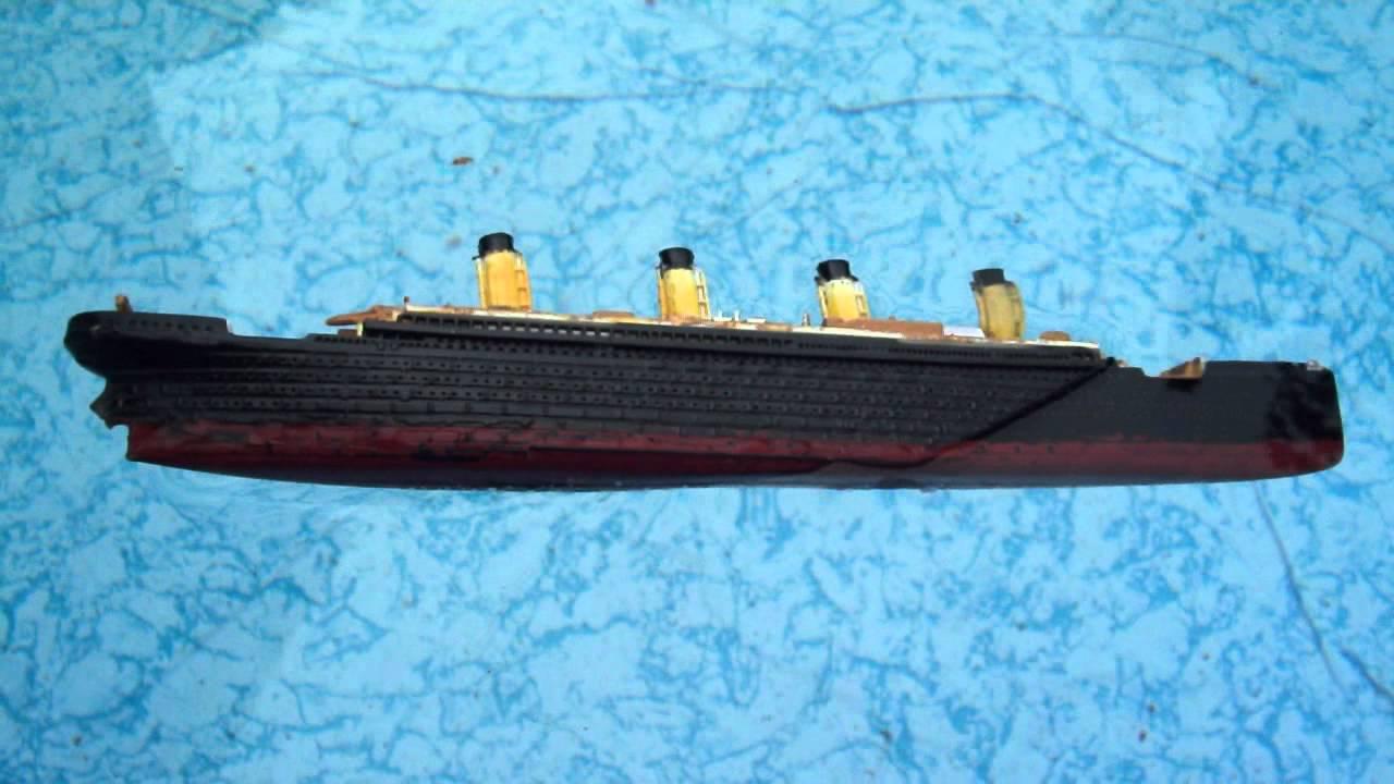Titanic And Britannic Sinking Sinking Revell Titanic
