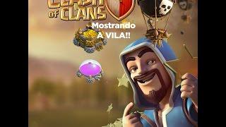 Clash of clans!~Mostrando vila e clã~