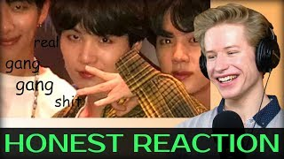 HONEST REACTION to bts being extra af in america