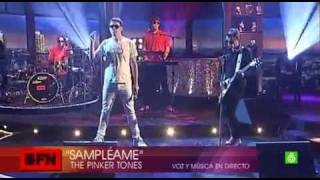 The Pinker Tones - Sampleame TV show  Buenafuente 2010