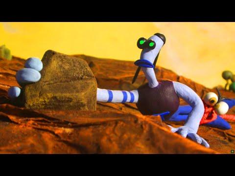 Armikrog episode 1 / The story of the explorer Tommynaut and his blind talking dog-alien Beak-Beak  