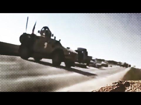 «Красивая сцена»: российские и сирийские военные развернули броневики США