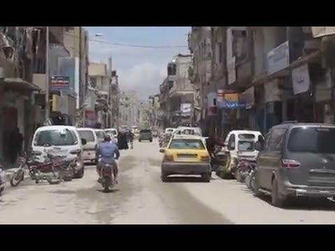 Tour Of Raqqa May 2018 Syria Youtube