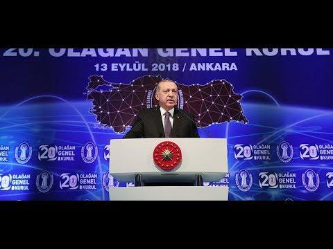 Cumhurbaşkanımız Erdoğan, TESK Genel Kurulu'nda konuştu