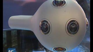 360-degree Virtual Reality camera on display at World Internet Conference