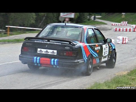 560HP Turbo Ford Sierra Cosworth - INSANE Anti-Lag, Bangs & Sounds!!
