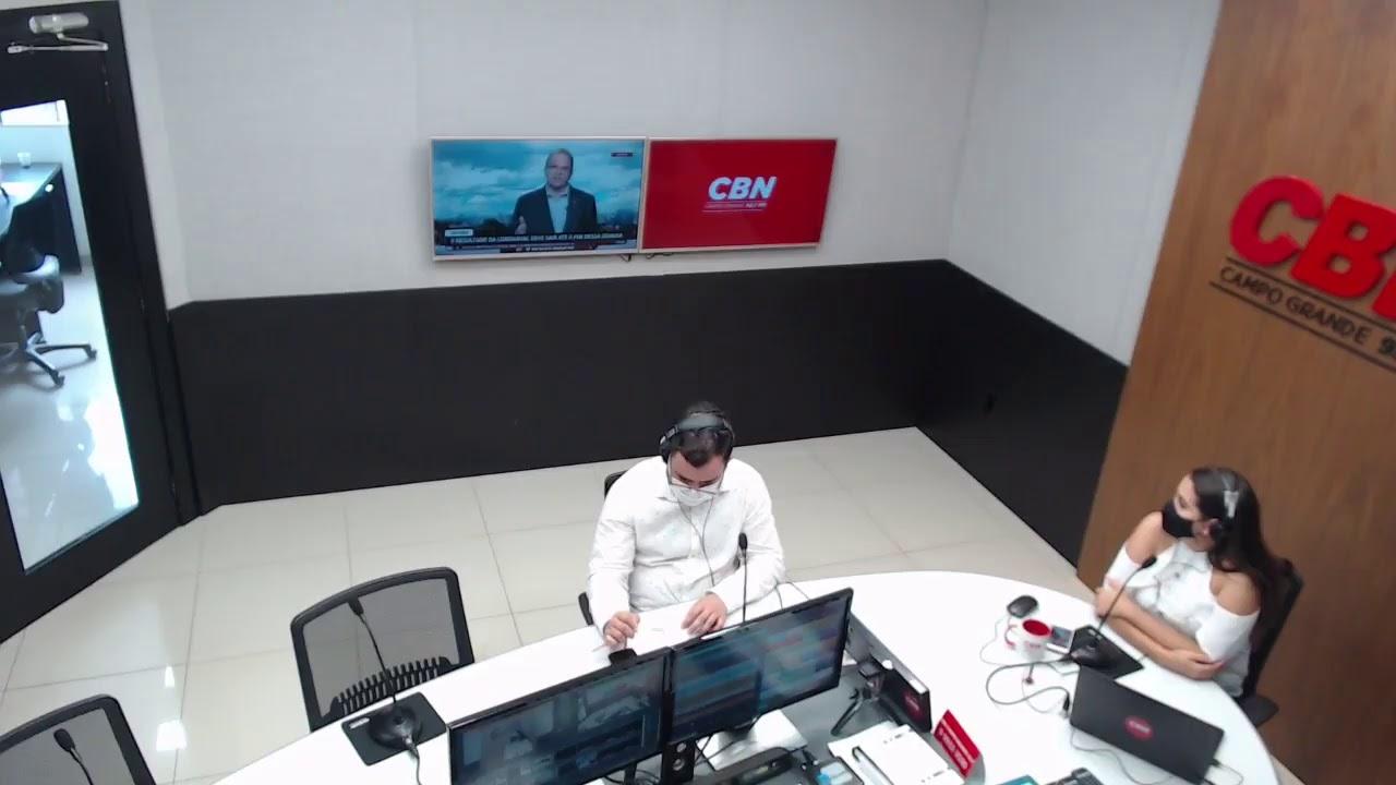 CBN Campo Grande (04/01/2021): com Marcus Moura e Ingrid Rocha