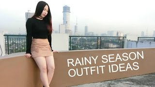 RAINY SEASON OUTFIT IDEAS | byruthie
