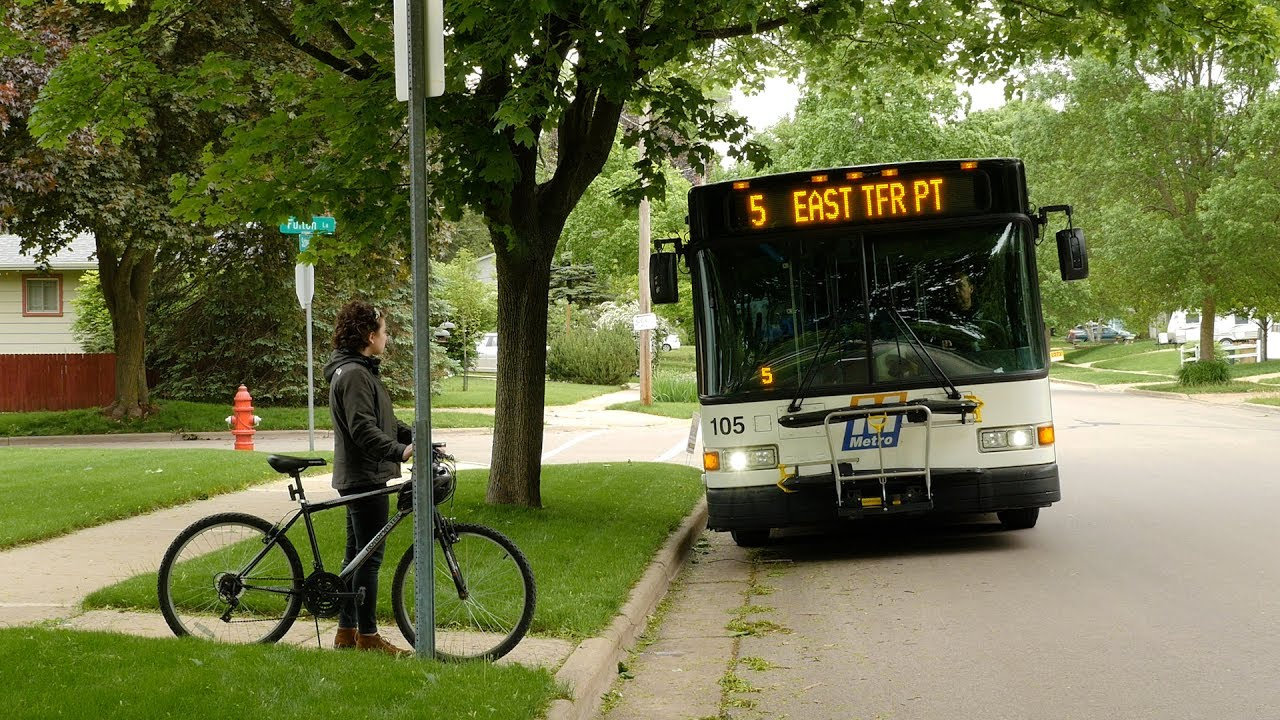 Bike Racks - Plan Your Trip - Metro Transit - City of