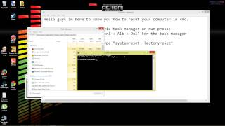 How To Factory Reset Any Computer Using Command Promt