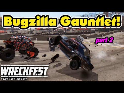 Wreckfest Gauntlet Challenge With Bugzillas Part 2! Wreckfest Multiplayer