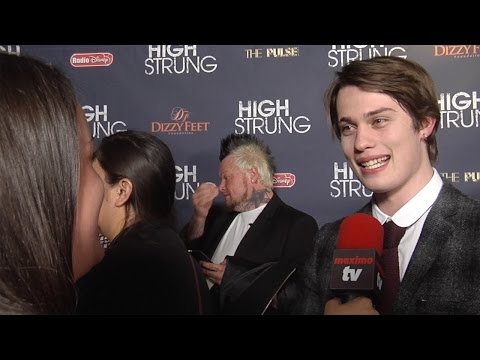 "Nicholas Galitzine Interview ""High Strung"" Premiere"