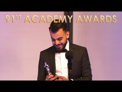 Oscars Speech Goes Too Long - 91st Academy Awards - Funny Or Die