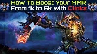 Boost Your MMR From 1k to 5k With Clinkz [ Part 1 ]
