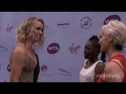 Wozniacki - Wimbledon Party