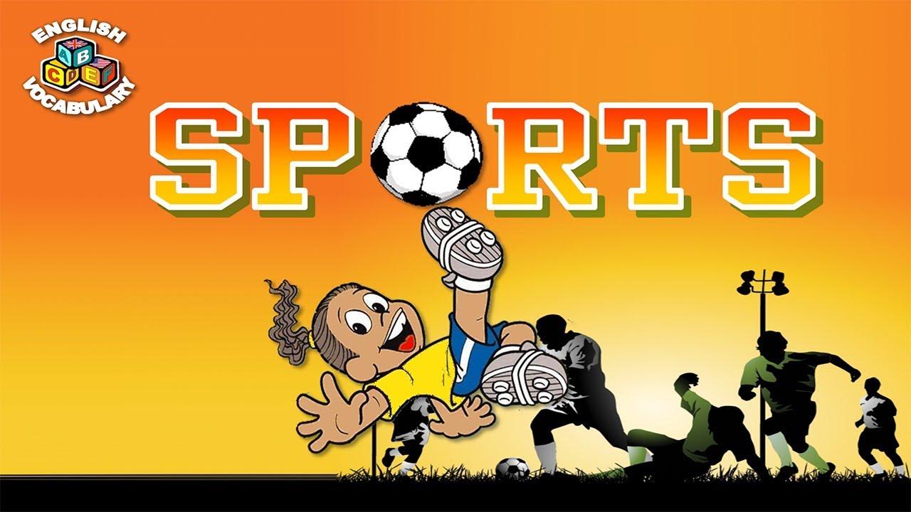 Английский видео-словарь. Виды спорта на английском языке.